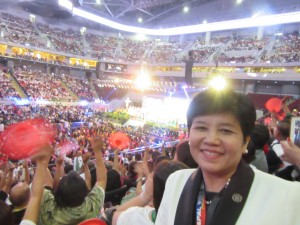 Dr. Ligaya attends Filipino event with Pope Francis: Encounter with Families