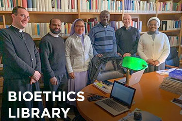 HLI human life international Rome, bioethics library